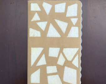"Customized Moleskine Notebook ""Lace"""