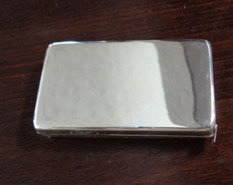 Vintage Silver Plate Tape Measure