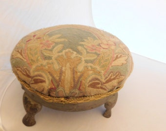 Antique Round Foot Stool