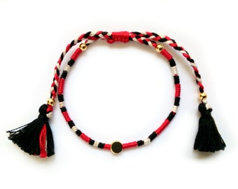 einzigartige artikel zum thema roter faden armband etsy. Black Bedroom Furniture Sets. Home Design Ideas