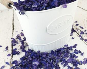 PURPLE Larkspur Petals: Natural Dried Flower Confetti