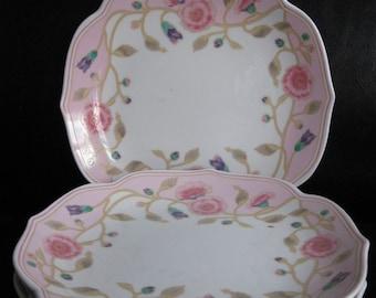 Set of Takahisha Luncheon Plates- Glory Pattern