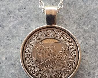 1951 El Camino Real Transit Token Pendant Necklace