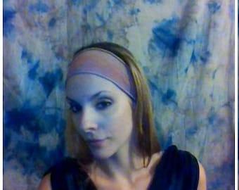 Orange and fuschia headband