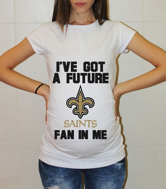 New orleans saints baby new orleans saints shirt women for Shirt printing new orleans