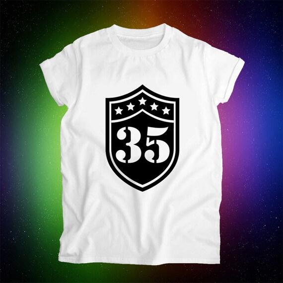 35th Birthday Gifts For Men: 35th Birthday Gift 35th Birthday Shirt 1981 35 By