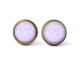 Pastel Vaporwave Stud Earrings. Vaporwave Earrings, Water Earrings, Aesthetic Earrings, Grunge Jewelry, Seapunk