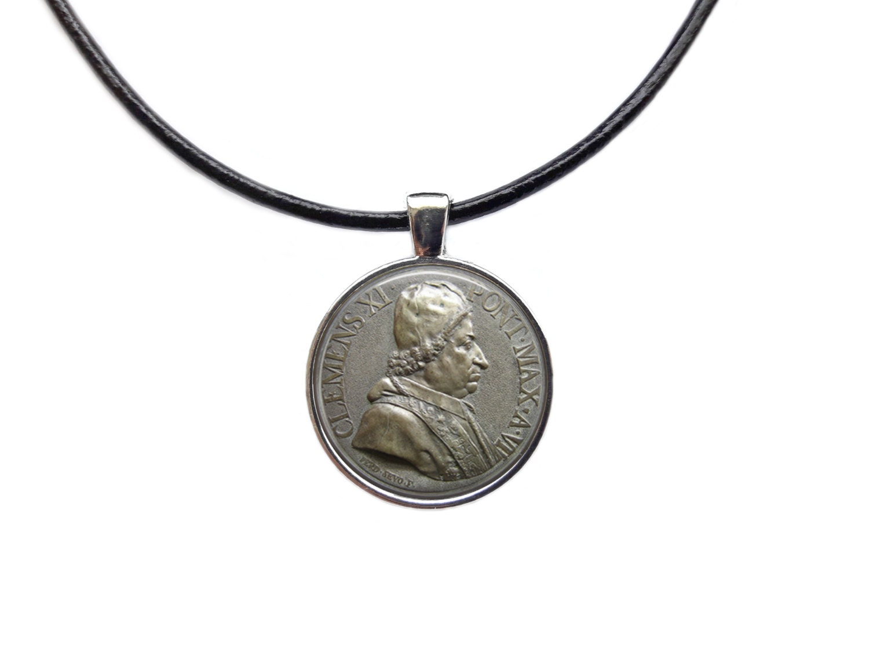 vintage jewelry coin pendant money necklace