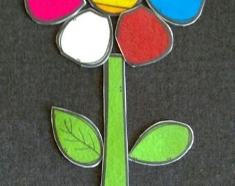 Create A Flower Felt Board Story // Flannel Board // Imagination // Children  //