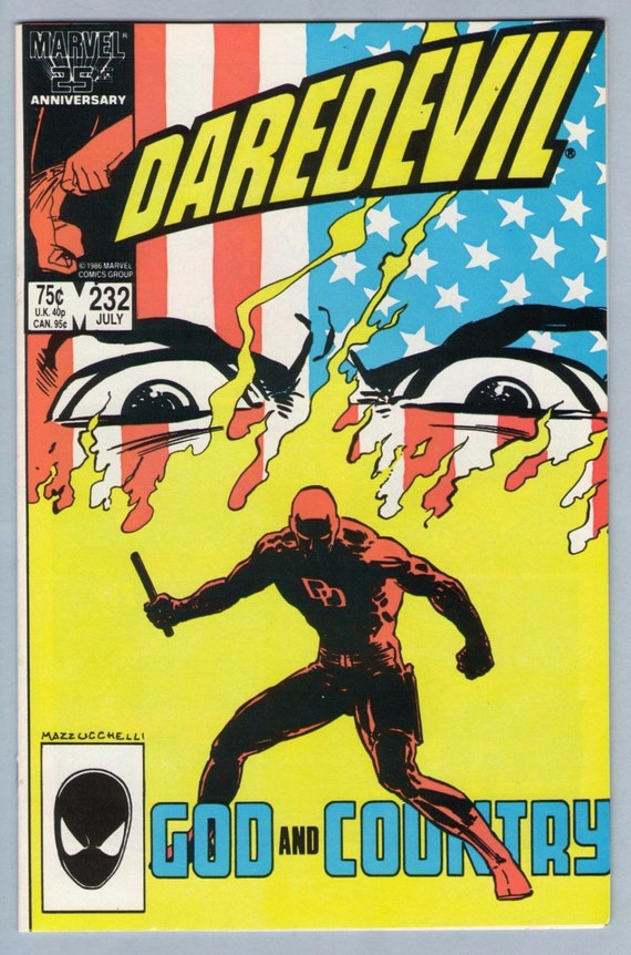 Daredevil 232 Jul 1986 NM- (9.2)