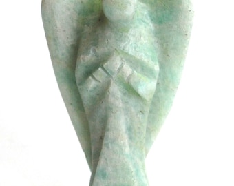 Amazonite Crystal Guardian Angel Stone Natural Gift