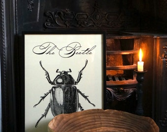 Items Similar To Beetle Print 04 Antique Vintage Insect