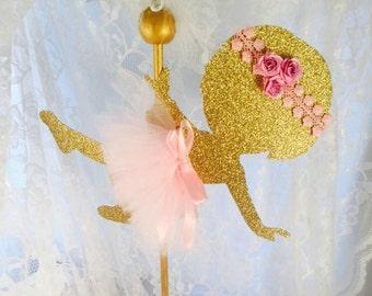 Ballerina Centerpieces - Ballet - Ballerina Party Decorations - Ballet Dance - Dancing - Baby Shower - Birthday Party - First Birthday