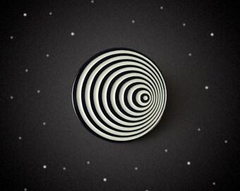 Twilight Spiral Enamel Pin