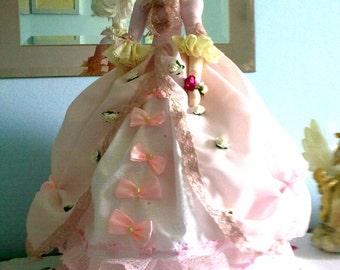 Tilda rag doll Marie Antoinette. shabby chic style,home decoration