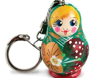 Matryoshka Nesting Doll Keychain