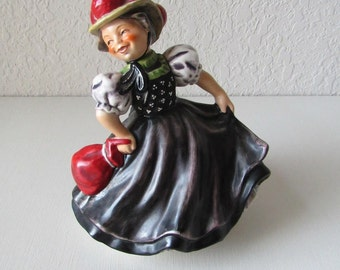Goebel Figurine, Goebel, Goebel West Germany, West Germany, 1968 Goebel FF301, German Figurine, German Porcelain, Germany Porcelain Figurine