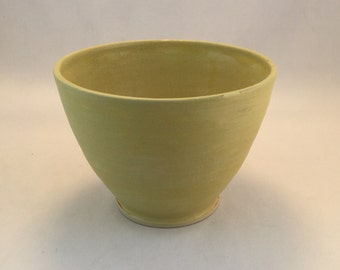 Yellow Serving Bowl