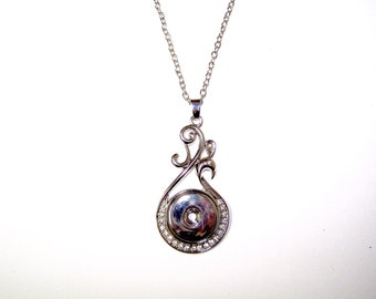 """18"""" SNAP Pendant Necklace for 18mm snaps"""