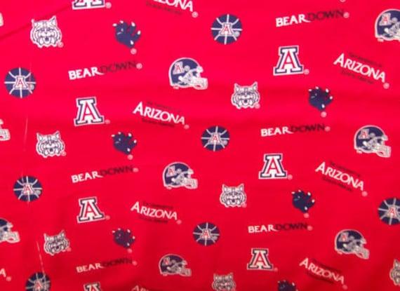 University of Arizona Fabric by Sykel Enterprises