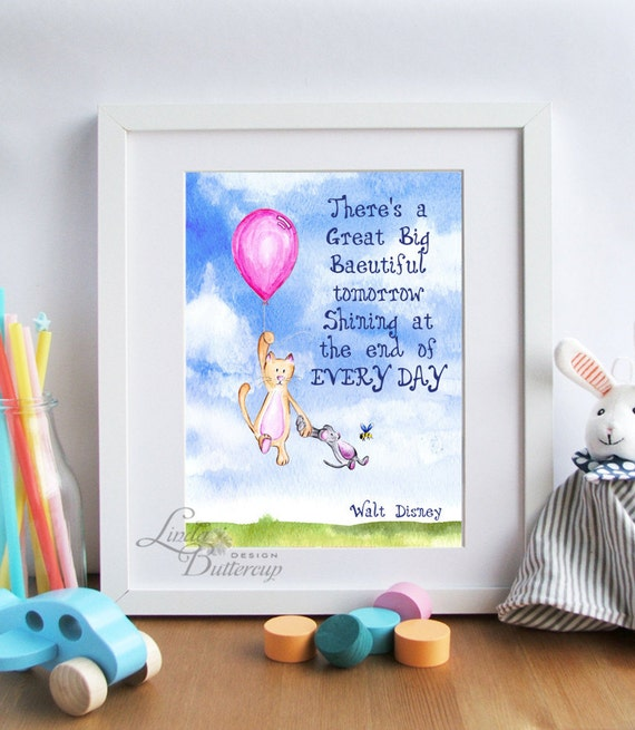 disney quote nursery decor baby shower decorations baby shower gift