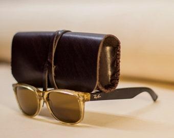 Sunglasses Case   Mahogany Sunglasses Case
