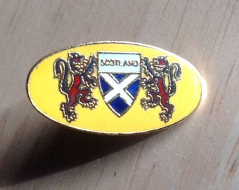 Vintage Scotland Badge