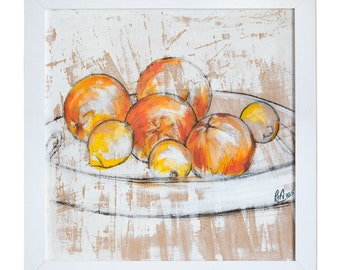 Illustration - Oranges & Lemons