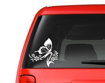 Butterfly (T4) Vinyl Decal Sticker Car/Truck Laptop/Netbook Window