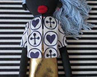 Doll black Cream