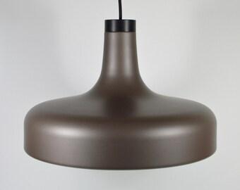 STAFF Brown satin lamp
