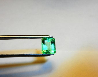 Emerald Colombian Loose.  Clear Neon 2.88ct. Natural Colombian Emerald Loose Gemstone.
