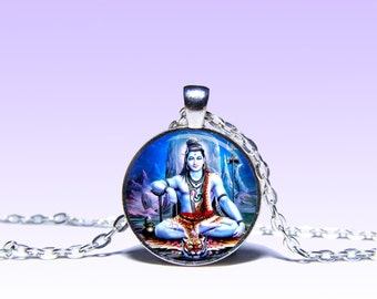 Lord Shiva Charm Pendant Shiva NECKLACE Lord Jewelery Amulet Charm Pendant for Him or Her
