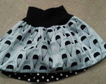 Bubble skirt with matching headband - Made to order