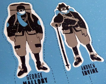 Mount EVEREST | Paper Toy. Screen printing 3 colours