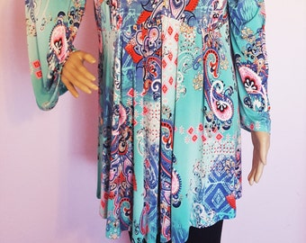 New Ultimate Cold shoulder Summer Magic Poncho tunic in beautiful look, Comfortable and Trendy.1XL,2XL,3XL