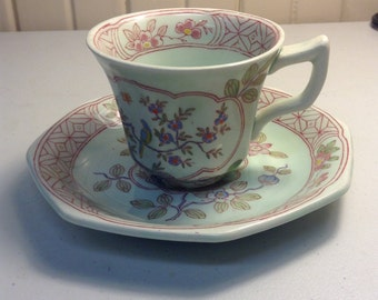 Vintage demitase cup and saucer