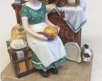 Norman Rockwell Dreams In The Antique Shop Figurine