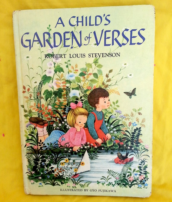 Vintage A Child 39 S Garden Of Verses By Robert