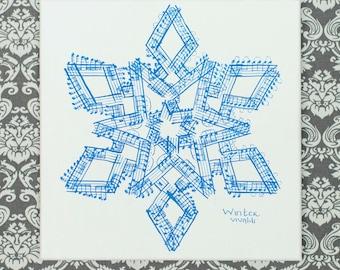Vivaldi's Four Seasons: Winter Classical Music Art
