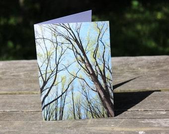 CARD 16 Send a Card to Show You Care. Peak Inside!  FREE U.S. Shipping.