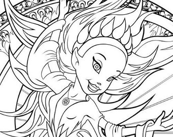 element coloring pages | Coloring Pages The Four Elements Entire Set of 4