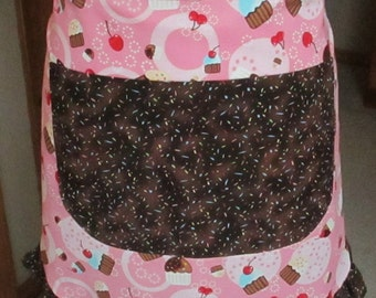 Half Apron, Cupcakes with Sprinkles