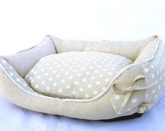 Dog bed SWEETHEARTH BEIGE