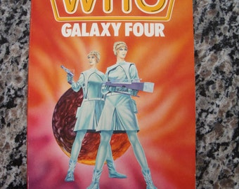 Doctor Who - Galaxy Four - Target Paperback Book