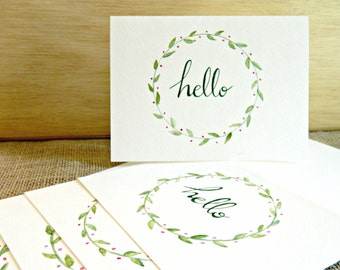 Hello Card (Pack of 5)