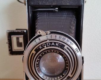 Vintage Kodak Vollenda 620 Camera - 1930's Kodak Vollenda Vintage Camera - 1930's Bellows Style Kodak Camera