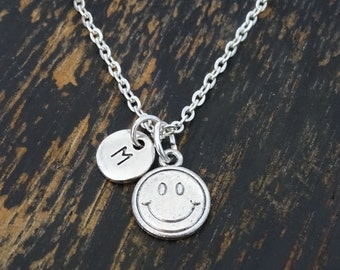 Emoji necklace the emoji movie necklace emoticon necklace smiley face necklace smiley face charm smiley face pendant smiley face jewelry aloadofball