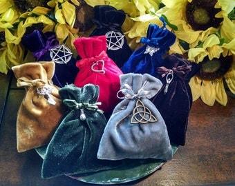 Conjure Bag Spell Kit Ritual Hoodoo Supply Gris Gris