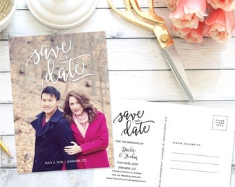 Save the Date Postcard #2  Announcement| Printable